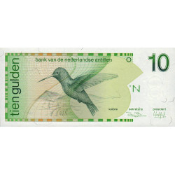 Antilles Néerlandaises - Pick 23a - 10 gulden - 31/03/1986 - Etat : NEUF