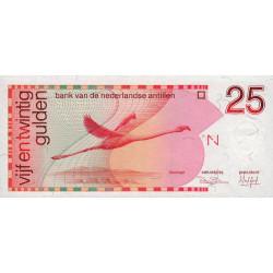 Antilles Néerlandaises - Pick 24a - 25 gulden - 31/03/1986 - Etat : NEUF