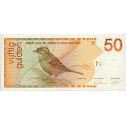 Antilles Néerlandaises - Pick 25a - 50 gulden - 31/03/1986 - Etat : pr.NEUF