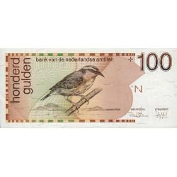 Antilles Néerlandaises - Pick 26a - 100 gulden - 31/03/1986 - Etat : SPL