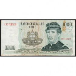 Chili - Pick 154e1 - 1'000 pesos - 1991 - Etat : TTB-