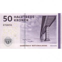 Danemark - Pick 65g_1 - 50 kroner - Série B3 - 2014 - Etat : NEUF