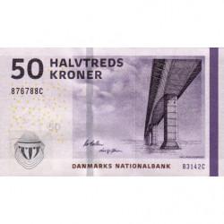 Danemark - Pick 65g_2 - 50 kroner - Série B3 - 2014 - Etat : NEUF