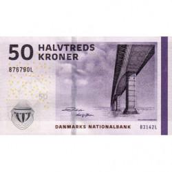 Danemark - Pick 65g_3 - 50 kroner - Série B3 - 2014 - Etat : NEUF