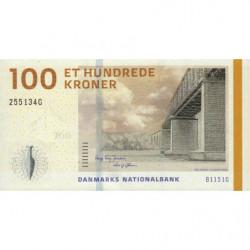 Danemark - Pick 66d_1 - 100 kroner - Série B1 - 2015 - Etat : NEUF