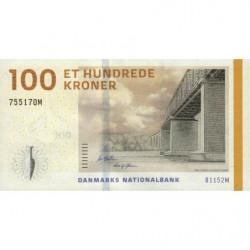 Danemark - Pick 66d_2 - 100 kroner - 2015 - Etat : NEUF