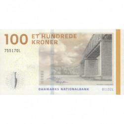 Danemark - Pick 66d_3 - 100 kroner - Série B1 - 2015 - Etat : NEUF