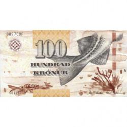 Féroé (iles) - Pick 30 - 100 krónur - Série C0 - 2011 - Etat : NEUF