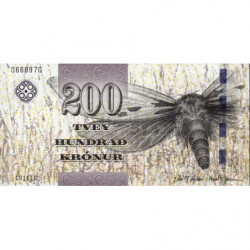 Féroé (iles) - Pick 31 - 200 krónur - 2011 - Etat : NEUF