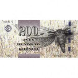 Féroé (iles) - Pick 31 - 200 krónur - Série C0 - 2011 - Etat : NEUF