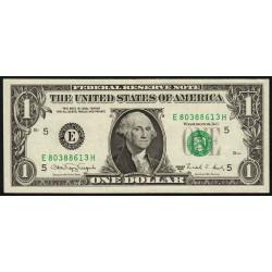 Etats Unis d'Amérique - Pick 480b - 1 dollar - 1988 A - E : Richmond - Etat : TTB+