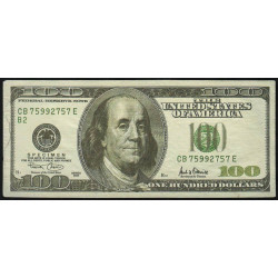 Etats Unis d'Amérique - 100 dollars - 2001 - B : New York - Billet fantaisie - Etat : TTB