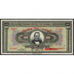 Grèce - Pick 100b - 1'000 drachmai - 04/11/1926 (1928) - Etat : SUP