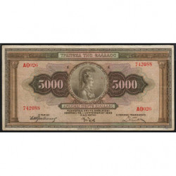 Grèce - Pick 103 - 5'000 drachmai - 01/09/1932 - Etat : TB+