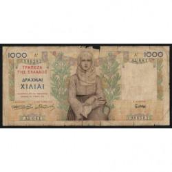 Grèce - Pick 106 - 1'000 drachmai - 01/05/1935 - Etat : AB