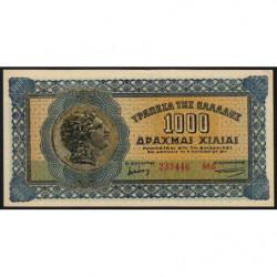 Grèce - Pick 117b_1 - 1'000 drachmai - 01/10/1941 - Etat : pr.NEUF