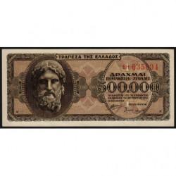 Grèce - Pick 126a_2 - 500'000 drachmai - 20/03/1944 - Etat : pr.NEUF