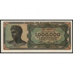 Grèce - Pick 127a_2 - 1'000'000 drachmai - 29/06/1944 - Etat : NEUF