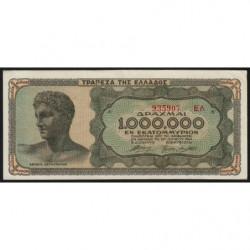 Grèce - Pick 127b_2 - 1'000'000 drachmai - 29/06/1944 - Etat : SUP+