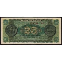 Grèce - Pick 130b_1 - 25'000'000 drachmai -10/08/1944 - Etat : SUP