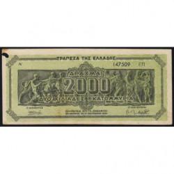 Grèce - Pick 133b - 2'000'000'000 drachmai - 11/10/1944 - Etat : TB