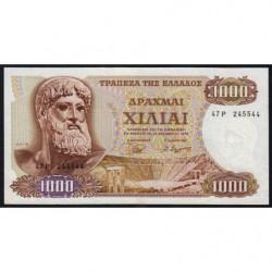 Grèce - Pick 198b - 1'000 drachmai - 01/11/1970 (1972) - Etat : TB+