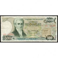 Grèce - Pick 201 - 500 drachmai - 01/02/1983 - Etat : TB-
