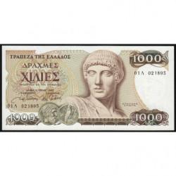 Grèce - Pick 202 - 1'000 drachmai - 01/07/1987 - Etat : NEUF