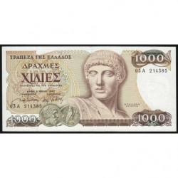 Grèce - Pick 202 - 1'000 drachmai - 01/07/1987 - Etat : SPL