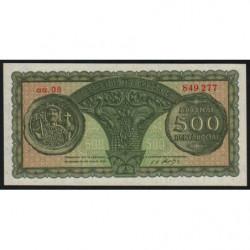 Grèce - Pick 325a - 500 drachmai - 10/07/1950 - Etat : NEUF