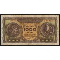 Grèce - Pick 326a - 1'000 drachmai - 10/07/1950 - Etat : B+