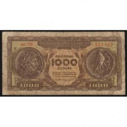 Grèce - Pick 326a - 1'000 drachmai - 10/07/1950 - Etat : B