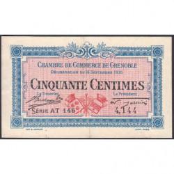 Grenoble - Pirot 63-4 - 50 centimes - 1916 - Etat : TTB+