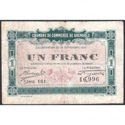 Grenoble - Pirot 63-6 - 1 franc - 1916 - Etat : B+