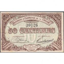 Gueret (Creuse) - Pirot 64-1 - 50 centimes - Sans série - 27/07/1915 - Etat : TTB