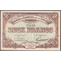 Gueret (Creuse) - Pirot 64-5 - 2 francs - Sans série - 27/07/1915 - Etat : TTB