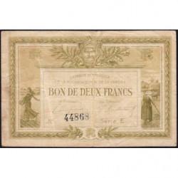 La Roche-sur-Yon (Vendée) - Pirot 65-21 - 2 francs - Série E - 1915 - Etat : TB-
