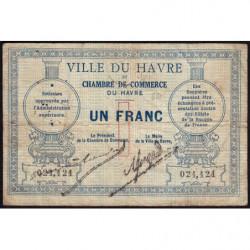 Le Havre - Pirot 68-04 - 1 franc - Sans date - Etat : B+