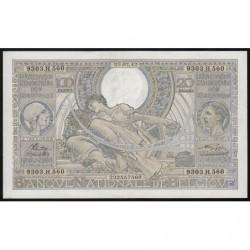 Belgique - Pick 107_4 - 100 francs ou 20 belgas - 23/07/1942 - Etat : SUP-