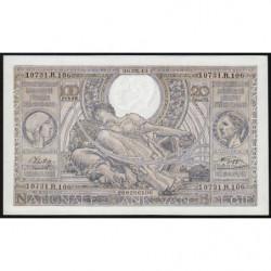 Belgique - Pick 107_4 - 100 francs ou 20 belgas - 26/05/1943 - Etat : pr. NEUF