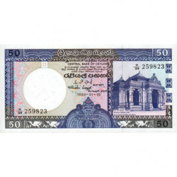 Sri-Lanka - Pick 94 - 50 rupees - 01/01/1982 - Etat : NEUF