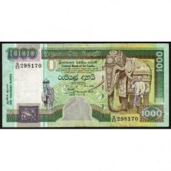 Sri-Lanka - Pick 113 - 1'000 rupees -15/11/ 1995 - Etat : TTB-