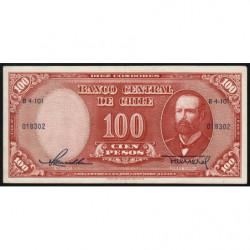 Chili - Pick 122_1 - 100 pesos - 1958 - Etat : SUP