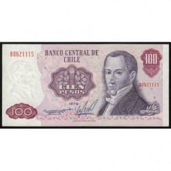 Chili - Pick 152b3 - 100 pesos - 1979 - Etat : SUP