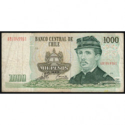 Chili - Pick 154f5 - 1'000 pesos - 1999 - Etat : TB-