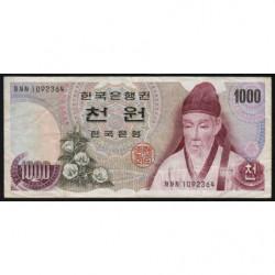 Corée du Sud - Pick 44 - 1'000 won - 1975 - Etat : TB+