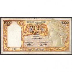 Algérie - Pick 107s_2 - 1'000 francs - 0/00/0000 - Epreuve - Etat : TB-