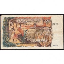 Algérie - Pick 128a - 100 dinars - 01/11/1970 - Etat : B+