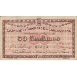 Carcassonne - Pirot 38-01a - 50 centimes - Etat : TB