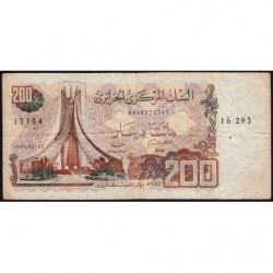 Algérie - Pick 135_2 - 200 dinars - 23/03/1983 (1985) - Etat : TB+